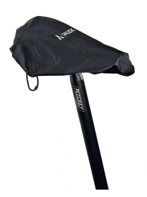 VAUDE Raincover for saddles czarny